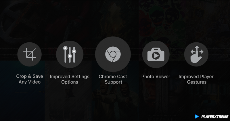 PlayerXtreme iOS v6.0.5 add Chrome Cast, Slideshow, Repeat/Shuffle and more…