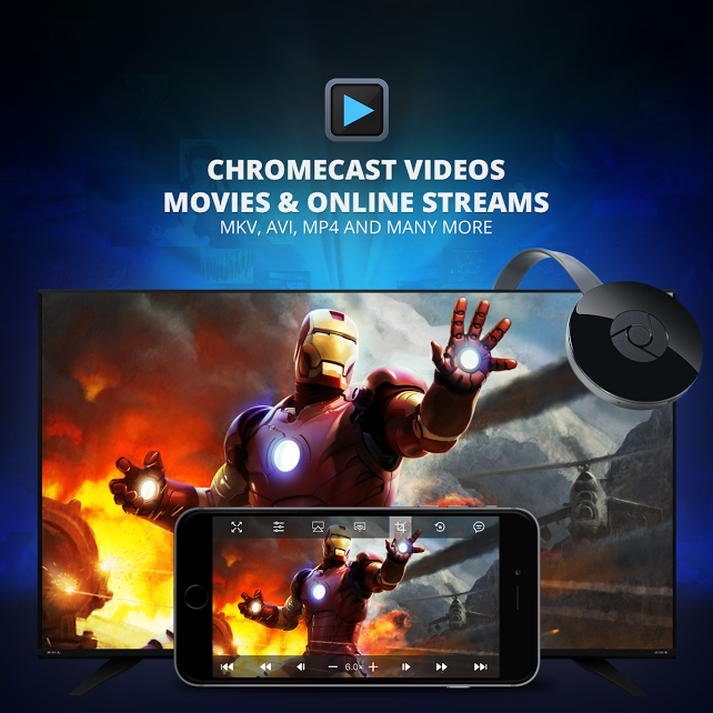 PlayerXtreme no chromecast all media formats